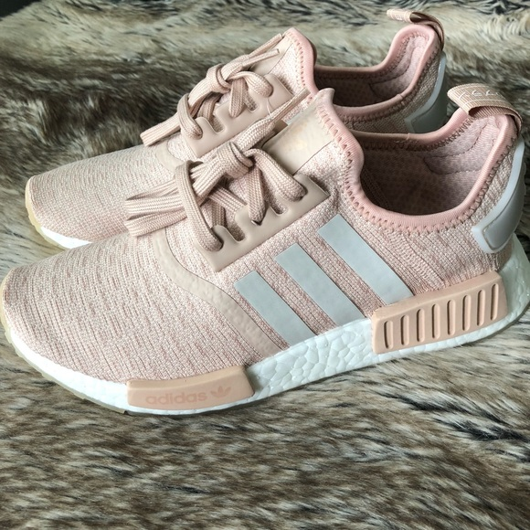 hot sale online aacf6 1e1cb Adidas NMD R1 Women s Shoes Ash Pearl